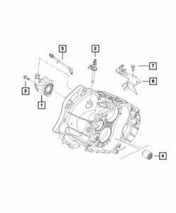 Genuine Mopar Clutch Hydraulic Hose 68132747AA