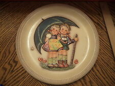 "Goebel Hummel 1975 Anniversary Plate First Edition ""Stormy Weather"" No Box"