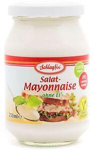 (0,756 €/ 100 ml) Schlagfix vegane Salat-Mayonnaise 250 ml