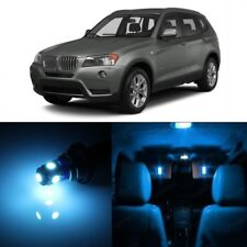 16 x Error Free Ice Blue LED Interior Light For 2011-2015 BMW X3 Series + TOOL