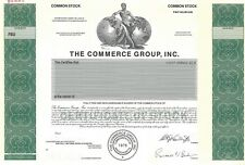 "The Commerce Group Inc.Abn ""Specimen"" Common Stock Certificate"