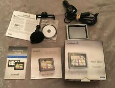 Complete In Box Garmin nuvi 1200 GPS Navigation Slimline Free Shipping