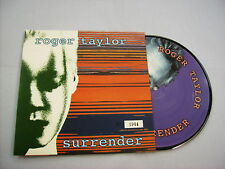 "ROGER TAYLOR - SURRENDER - 7"" PICTURE DISC - QUEEN - COPY # 1944"