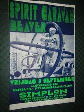 Spirit Caravan + Beaver: Konzertplakat, Tourposter, Promo Poster - 50 x 32 cm