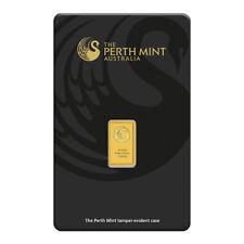 1 Gramm Goldbarren Perth Mint Gold 999,9 Feingold Barren