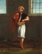 """perfect 24x36 oil painting handpainted on canvas""""An Albanian Sailor""""N14030"""