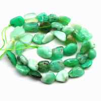 Limit Natural Chrysoprase Tumble  Loose bead 15.5inch  NN1040