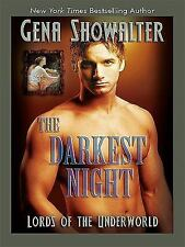 Lords of the Underworld: The Darkest Night by Gena Showalter (2008,...