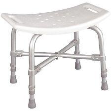 Medical Bathtub 550 lbs Backless Bath Tub Bench Shower Stool Handicap Seat Chair
