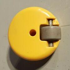 Genuine Dyson DC05 Swivel Bottom Wheel Yellow