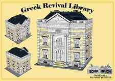 Custom instruction, consisting of LEGO elements - Greek Revival Library
