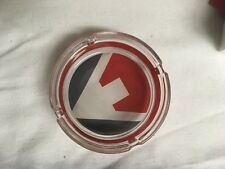 Marlboro Cigarette Promotional Flavor Chase Glass Ashtray - New in box Free Ship