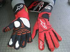 ALPINESTARS RACING RACE RALLY GLOVES TECH L RACING GLOVES RALLY FIA RED GUANTES
