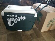 coors beer party cart bottle can cooler & table chairs beach bar tailgating new