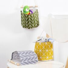 Wall Door Hanging Storage Bag Home Organizer Pouch Toys Container TyCbA gxi_