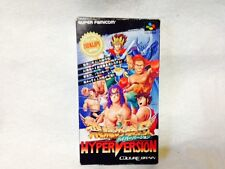 Hiryu no Ken S Hyper Version Japan Nintendo Super Famicom Snes Boxed