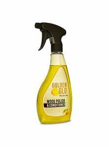 Golden Glo Wood Polish and Conditioner, orange oil, wood, cleans stainless steel