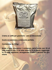 3 buste - Crema al caffè fredda per BAR uso professionale con granitore 900gr.