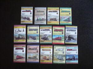 Stamps - Nukufetau-Tuvalu - Scott# 24-26, 28-30, 32-39