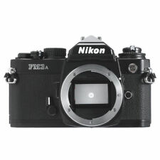 NIKON FM3A 35mm SLR FILM CAMERA BODY // BLACK MINT / 180D WRT