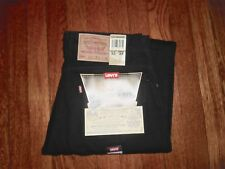 LEVIS VINTAGE 550 MADE IN USA 1993 RELAXED TAPERED LEG ZIP FLY BLACK JEANS 31x34