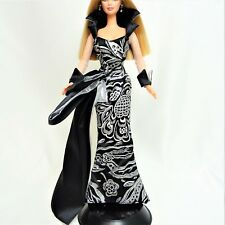 Barbie Fashion Black and Silver Ball Gown NO DOLL