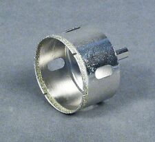 "60mm (2 3/8"") Diamond Tip Hole Saw Bit for 1 1/2"" Bulkhead, Aquarium Overflow"