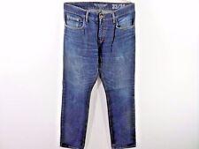 Héros par John medoox Homme Regular Fit Denim Jeans bleu taille W36 L34 BON SKU M493