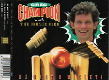 GREG CHAMPION WITH THE MUSIC MEN - WE WANT A WICKET CD SINGLE 3 TRACKS 1994