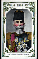 IMAGE CHOCOLAT GUERIN BOUTRON / GENERAL TURC Mahmoud CHEVFKET-PACHA à USKUB