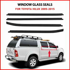 WINDOW GLASS SEALS DOOR WEATHER STRIP FOR TOYOTA HILUX Double Cab 2005-2015