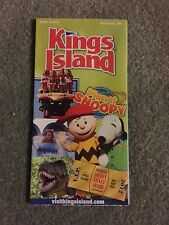 2013 Kings Island Park Map Guide Ohio Planet Snoopy Amusement Park