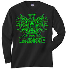 Lacrosse Play Hard Eagle T-Shirt Jersey Long and Short Sleeve New Adult - Youth