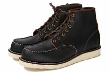 NEW Red Wing Heritage Classic Moc 6-Inch 8849 Mens Black Leather Boots