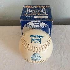 Vintage MacGregor Softball Hardwood Haiti Asa Official Cork Center 3157/100Sn-12