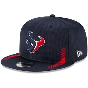 2021 Houston Texans New Era 9FIFTY NFL Snapback Sideline Home On Field Hat Cap
