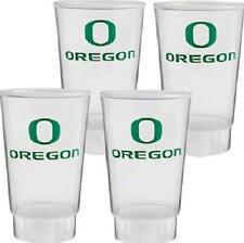 Oregon Ducks Plastic Tumblers 4 Pack Cups