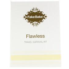 Flawless Self Tan Wipe Travel Survival Kit Tanning Towel Exfoliator Fake Bake