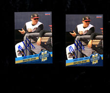 2 Omar Lopez 2014 Midwest League All Star Quad Cities auto signed cards