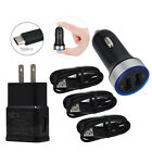 For Google Pixel 6 5 4 XL C LG Stylo 4 Plus 2A Wall 18W Car Charger Type-c Cable