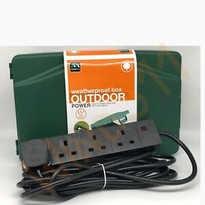 Outdoor 5m Electrical Enclosure Box - Garden Power Patio Kit Weatherproof