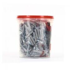 Box tasselli con vite FISCHER SX 6 S 200 pz  con punta SDS omaggio 00518955