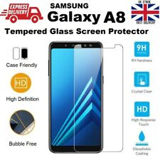 Anti Scratch 9H Hardness Tempered Glass Screen Protector for Samsung A8 (2018)