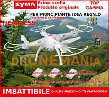 DRONE 2,4- GHZ SYMA X5SC TRE 3 BATTERIE TELECAMERA HD UPGRADE VERSION LUCI LED
