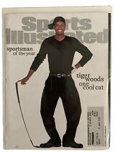"DECEMBER 18, 2000 SPORTS ILLUSTRATED MAGAZINE-TIGER WOODS COVER ""ONE COOL CAT"""