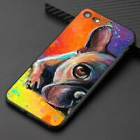 French Bulldog Puppy Cover Case iPhone 5 6 6S 7 8 + plus X XR XS 11 Pro Max SE2