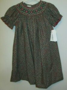 NWT 2T GIRLS BOUTIQUE EDGEHILL COLLECTION SMOCKED DRESS