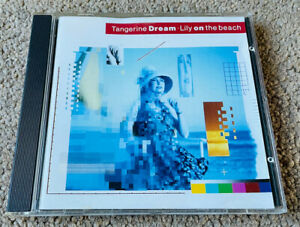 Tangerine Dream - Lily On The Beach (1989 Private Music) CD 260 103