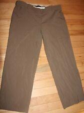Women's size 10 BCBG MAXAZRIA cropped dress pants brown