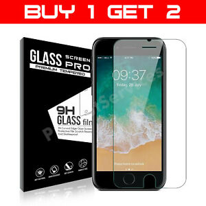 For iPhone 8 Plus Tempered Glass Screen Protector  – 100% Genuine